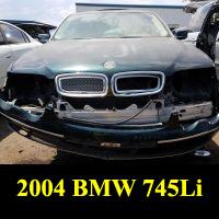 Junkyard 2004 BMW 745li