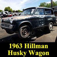 Junkyard 1963 Hillman Husky Station Wagon