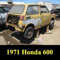 Junkyard 1971 Honda 600