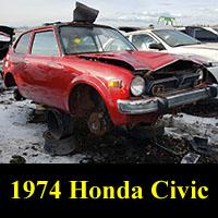 Junkyard 1974 Honda Civic