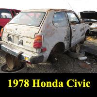 Junkyard 1978 Honda Civic
