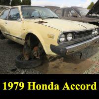 Junkyard 1979 Honda Accord