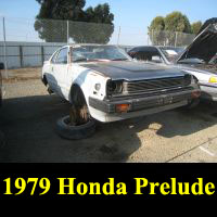 Junkyard 1979 Honda Prelude