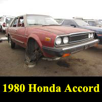 Junkyard 1980 Honda Accord