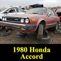 Junkyard 1980 Honda Accord Sedan