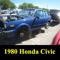 Junkyard 1980 Honda Civic