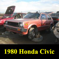 Junkyard Junkyard 1980 Honda Civic