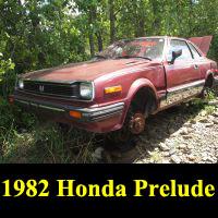 Junkyard 1982 Honda Prelude