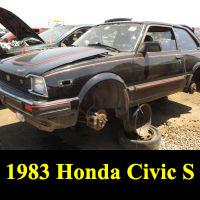 Junkyard 1983 Honda Civic S