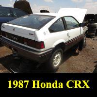 Junkyard 1987 Honda CRX