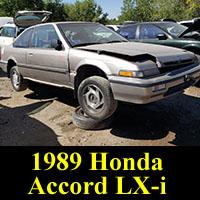 Junkyard 1989 Honda Accord LX-i Coupe