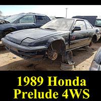 Junkyard 1989 Honda Prelude