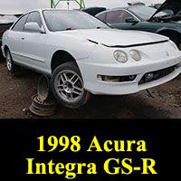 Junkyard 1998 Acura Integra GS-R