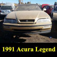 Junkyard 1991 Acura Legend Coupe