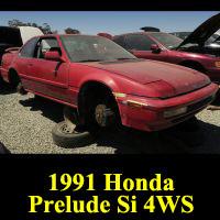 Junkyard 1991 Honda Prelude Si 4WS