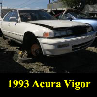 Junkyard 1993 Acura Vigor