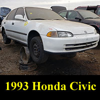 Junkyard 1993 Honda Civic