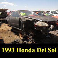 Junkyard 1993 Honda Del Sol