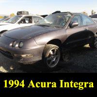 Junkyard 1994 Acura Integra LS