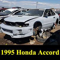 Junkyard 1995 Honda Accord