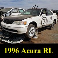 Junkyard 1996 Acura 3.5RL