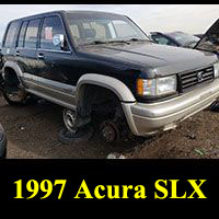 Junkyard 1997 Acura SLX