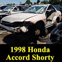 Junkyard 1998 Honda Accord Sawzall Edition
