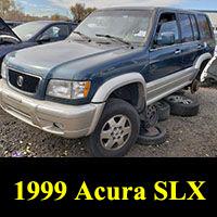 Junkyard 1999 Acura SLX