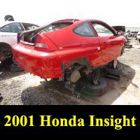 Junkyard 2001 Honda Insight
