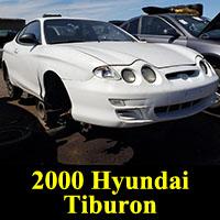 Junkyard 2000 Hyundai Tiburon