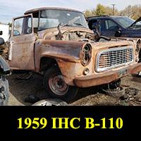 1959 IHC B-100 Pickup