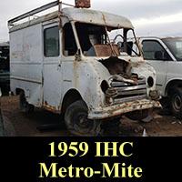 Junkyard 1959 IHC AM-80