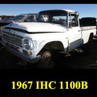 Junkyard 1967 IHC 1100B Pickup