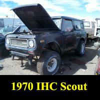 Junkyard 1970 IHC Scout