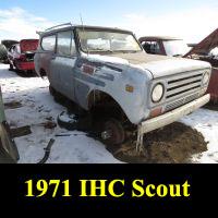 Junkyard 1971 IHC Scout