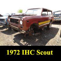 Junkyard 1972 IHC Scout