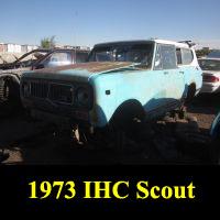 Junkyard 1973 IHC Scout