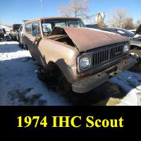 Junkyard 1974 IHC Scout