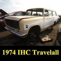 Junkyard 1974 IHC Travelall