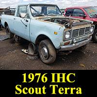 Junkyard 1976 IHC Scout Terra