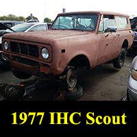 Junkyard 1977 IHC Scout II