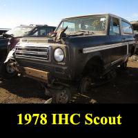 Junkyard 1978 IHC Scout