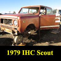 Junkyard 1979 IHC Scout