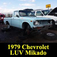Junkyard 1979 Chevrolet LUV Mikado