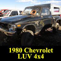 Junkyard 1980 Chevrolet LUV 4x4