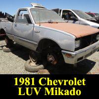 Junkyard 1981 Chevrolet LUV MIkado