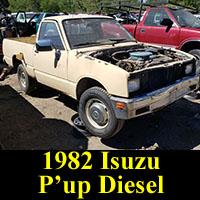 Junkyard 1982 Isuzu P'up Diesel