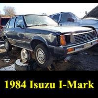 Junkyard 1984 Isuzu I-Mark