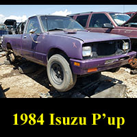 Junkyard 1984 Isuzu P'up
