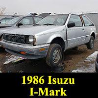 1986 Isuzu I-Mark